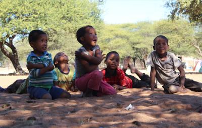 San Children - D'Kar, Botswana